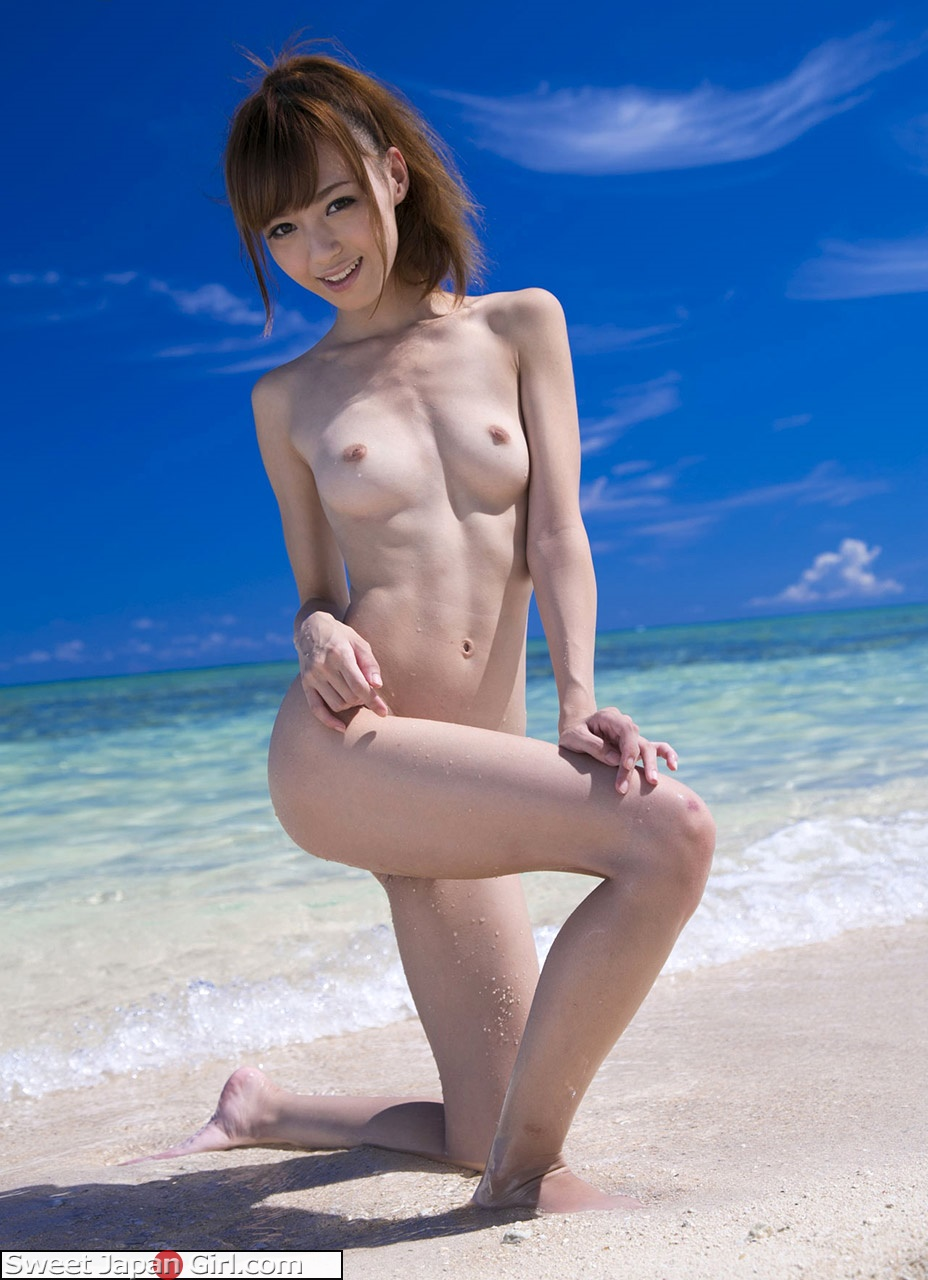 Can japanese girl naked on beach authoritative