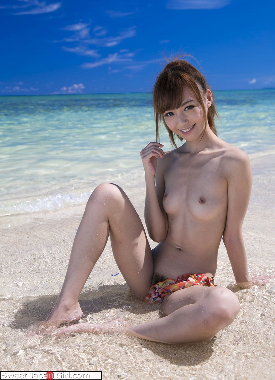 asian naked on the beach
