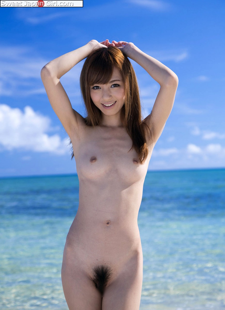 girls on beach Nude asian